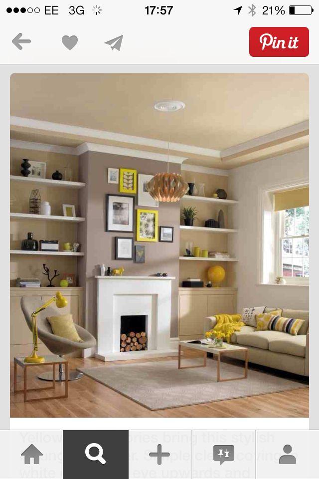 comment am nager une alc ve dans un salon living rooms room and salons. Black Bedroom Furniture Sets. Home Design Ideas