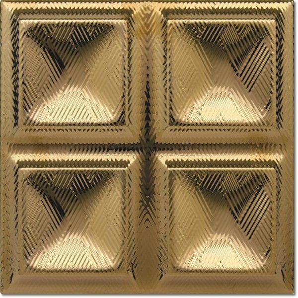 Dec. Cubos Oro 20x20