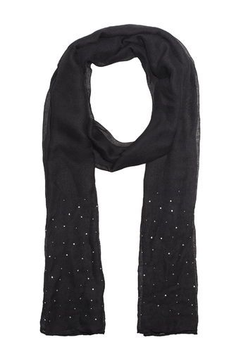 Sparkling Rhinestone Fabric Neckwear