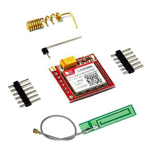KOOKYE SIM800L GPRS GSM-Modul Micro-SIM-Karte Brett Quad-Band-TTL Serial Port mit Antenne f�r Arduino MCU