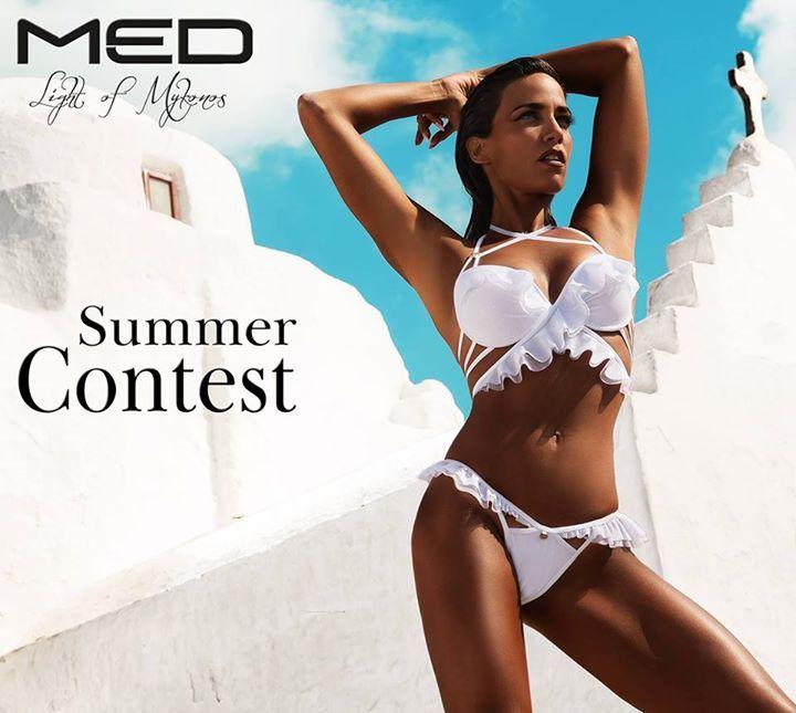 Διαγωνισμός MED με δώρο ένα MED Claudia λευκό σουτιέν B Cup με ενίσχυση και ένα MED Claudia λευκό Brazilian Σλιπ http://getlink.saveandwin.gr/8OB