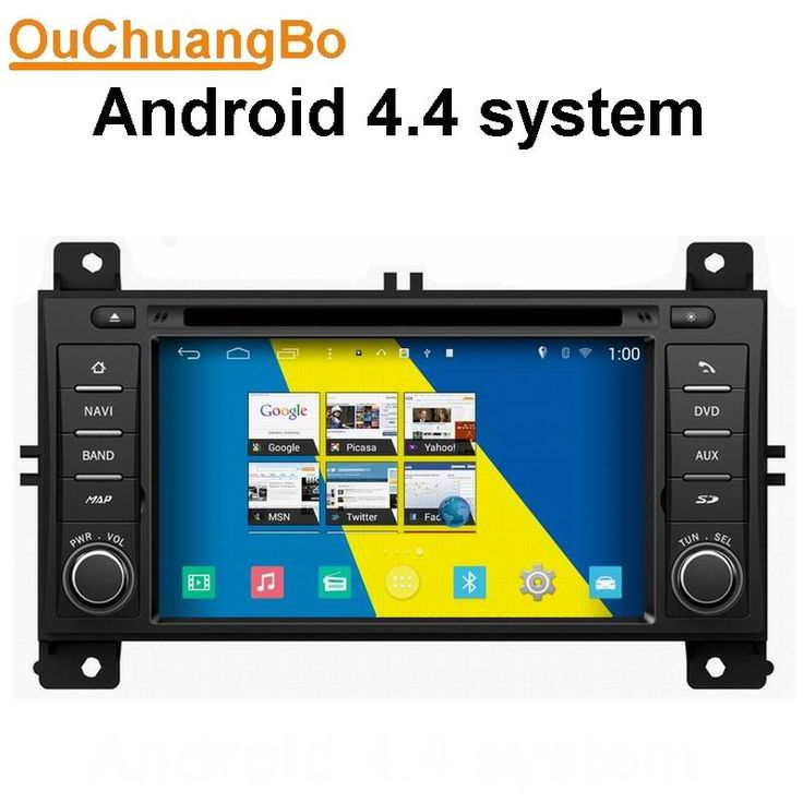 Ouchuangbo car dvd gps radio for Jeep Grand Cherokee 2012 2013 with 3G WIFI BT quad core android 4.4 OS #Affiliate
