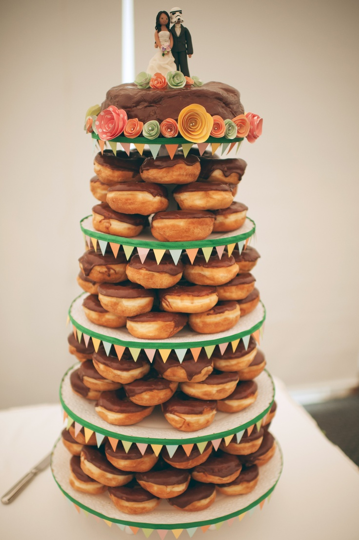Dunkin Donuts Wedding Cake