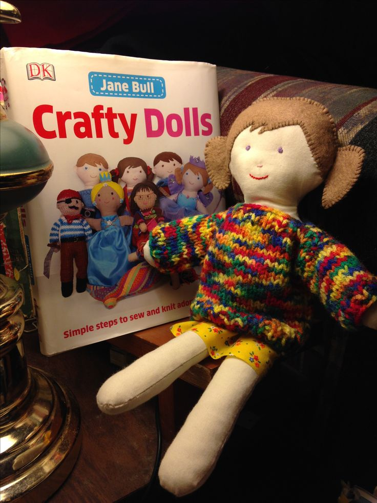 Trixie:  Crafty Dolls by Jane Bull. Made by northstar62