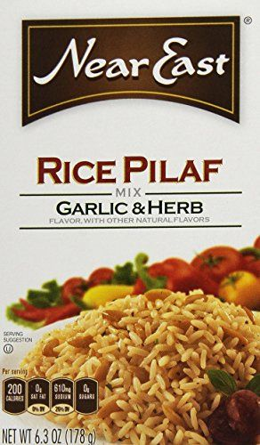 Near East Rice Pilaf Mix Garlic  Herb 63oz Box * See this great product. (Note:Amazon affiliate link)