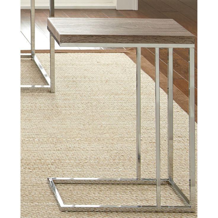 "25"" H x 18"" W x 10"" D Steve Silver Furniture Lucia End Table"