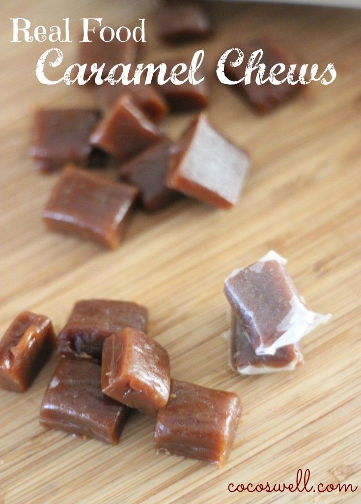 Real food caramels. Finally! A caramel recipe without the junk! https://www.cocoswell.com