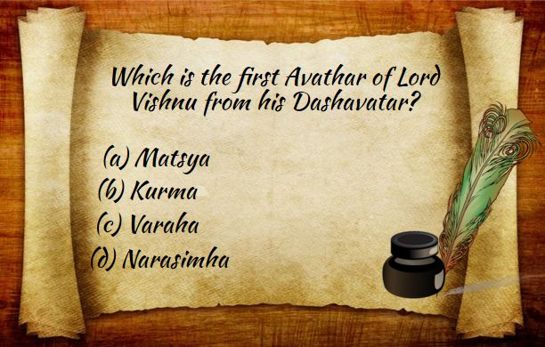 Participate in the quiz and get exciting offers at ‪#‎BringHomeFestival‬ Give your correct answer in the comment below. ‪#‎IndianMythology‬