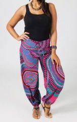 Pantalon grande taille ethnique Joey sur www.akoustik-online.com.