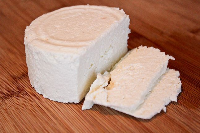 homemade Queso Fresco (same process as paneer)