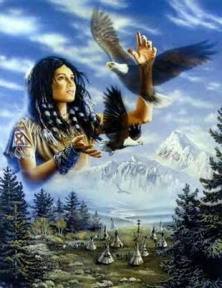 Spirit World, Beautiful Scene   Art   Native american ...