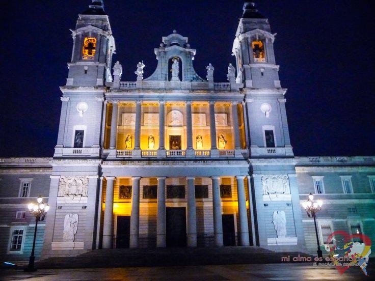 Madrid by night. Spain.
