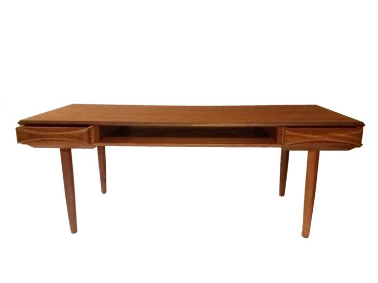 Arne Vodder coffee table in teak by CopenRetro on Etsy