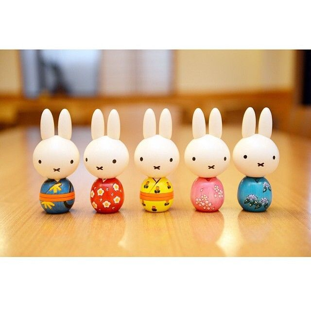 One Miffy, two Miffy, three Miffy, four. Five Miffy!