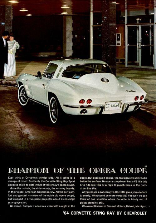 1964 Chevrolet Corvette.