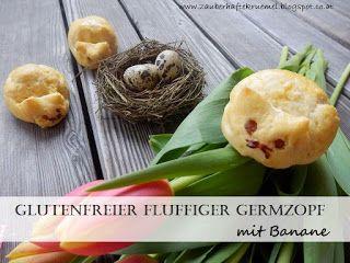 Perfekt für die Resteverwertung von überreifen Bananen:  glutenfreier Germzopf/ Hefezopf mit Banane  http://www.zauberhaftekruemel.blogspot.co.at/2016/03/rezepte-glutenfreier-fluffiger-germzopf.html