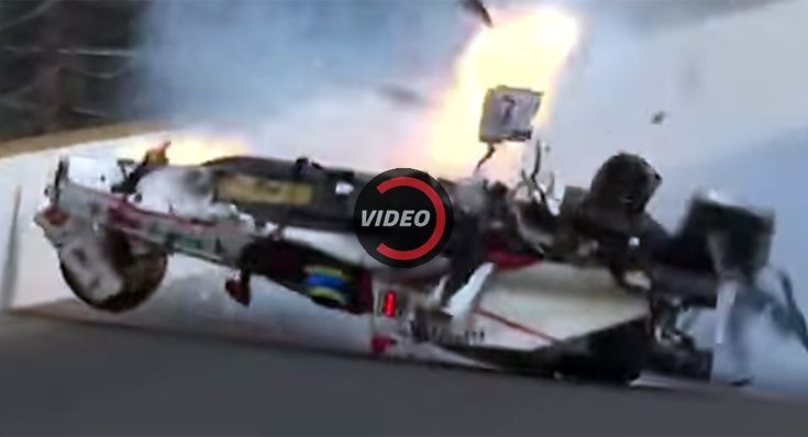 Sebastien Bourdais Crashes Big During Indy 500 Qualifying