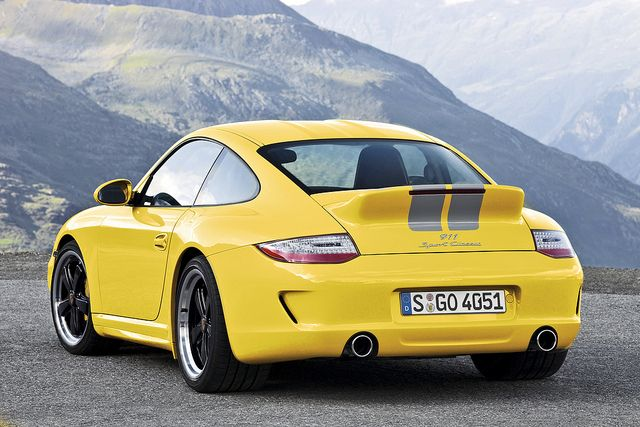 911 Sport Classic, as it would look in yellow