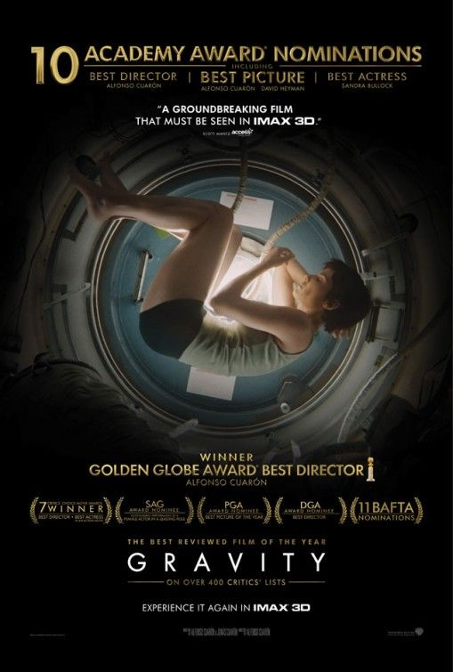Gravity (Re-release Poster)