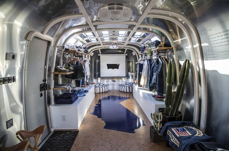 Levis Custom Airstream Trailer Pop Up Shop A I R S T E M D Pinterest Caves