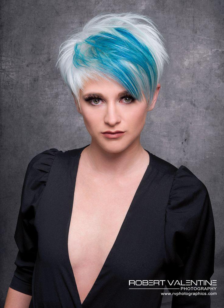 Hair: RUSK Artistic Director, Gerard Caruso, MUA: Alicia Nobles, Model: