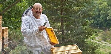Eric Langlet apiculteur
