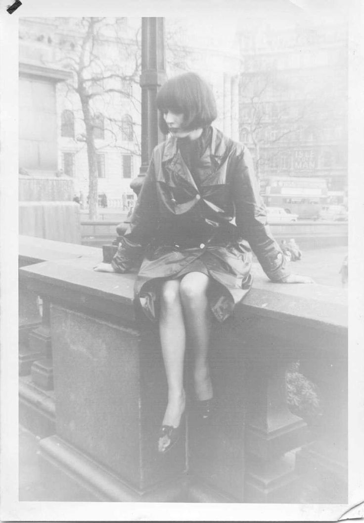 Birmingham Mod Girl by Gill Evans (neé Taylor), early 1960s