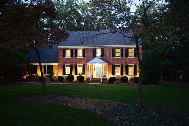 How We Added Landscape Lighting Landscape Lighting Design Outdoor Remodel Landscape Lighting