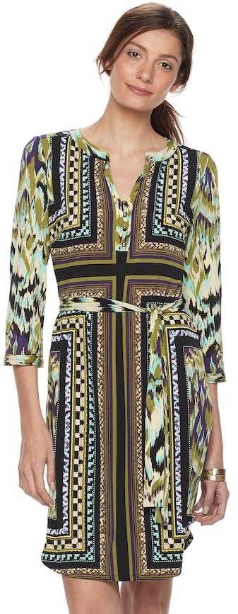 Dana Buchman Women's Shirtdress