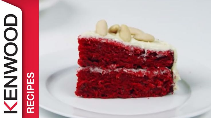 Red Velvet Cake Recipe   Demonstrated with Kenwood Chef Sense