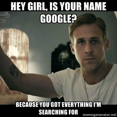haha, great pick up line, and the pic of ryan gosling isnt too shabby either =)