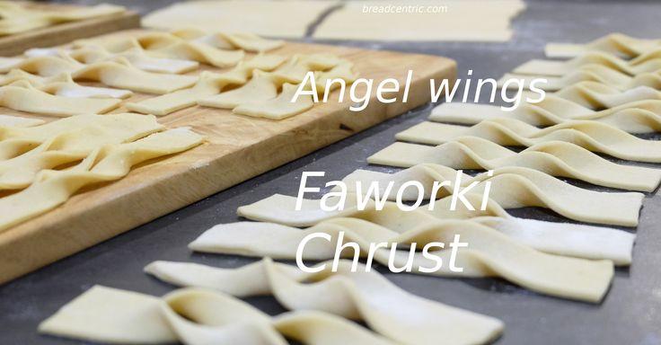Angel wings. Faworki. Chrust.