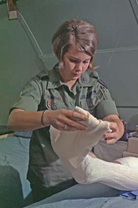 Vietnam War Nurse