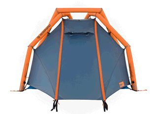 Hemiplanet is a new company pushing the limits of tent technology with an inflatable geodesic frame. The  Wedge  is super cool!  sc 1 st  Pinterest & Hemiplanet is a new company pushing the limits of tent technology ...