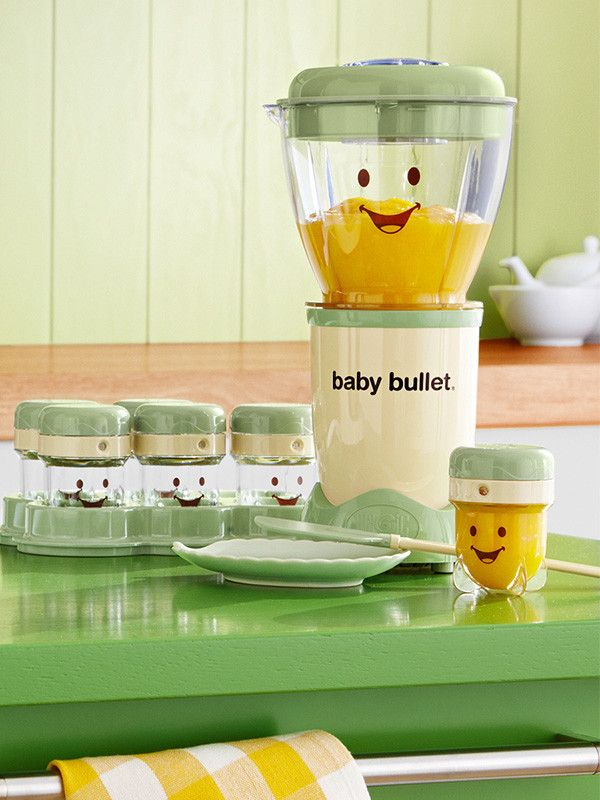 Prepare nutritious baby food in a flash with Baby Bullet from Magic Bullet.