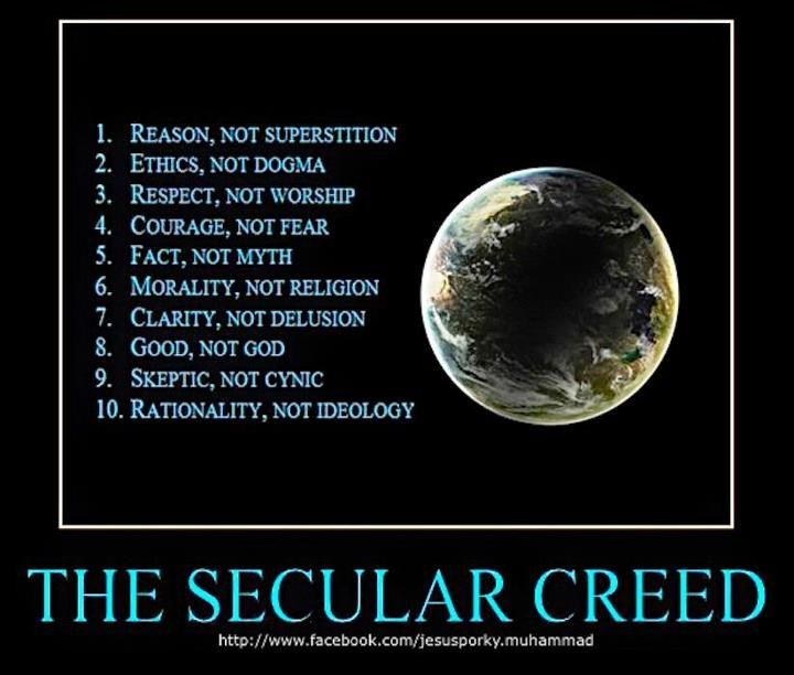 secular humanism | secular humanist creed to consider... | My Style