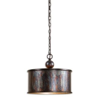 shop for uttermost albiano 1light oxidized bronze pendant get free shipping at overstock