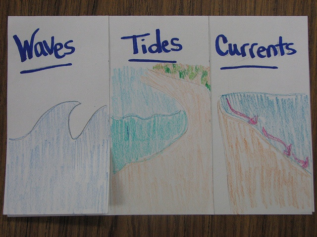 Waves, Tides and Currents by