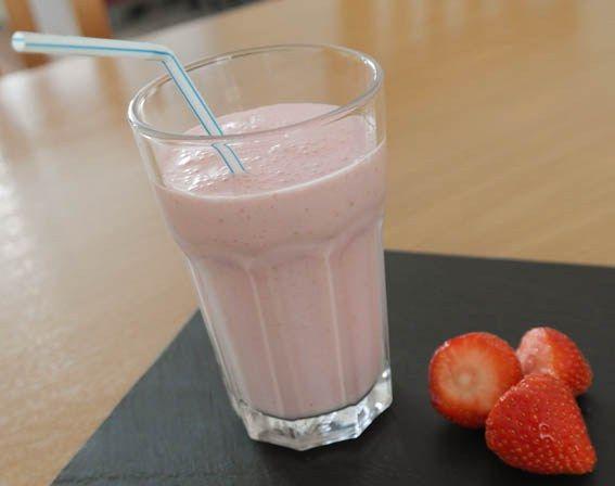 Milkshake aardbei