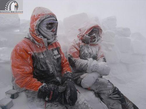 Extra Cold Weather gear (ECWs). Image - Antarctica New Zealand