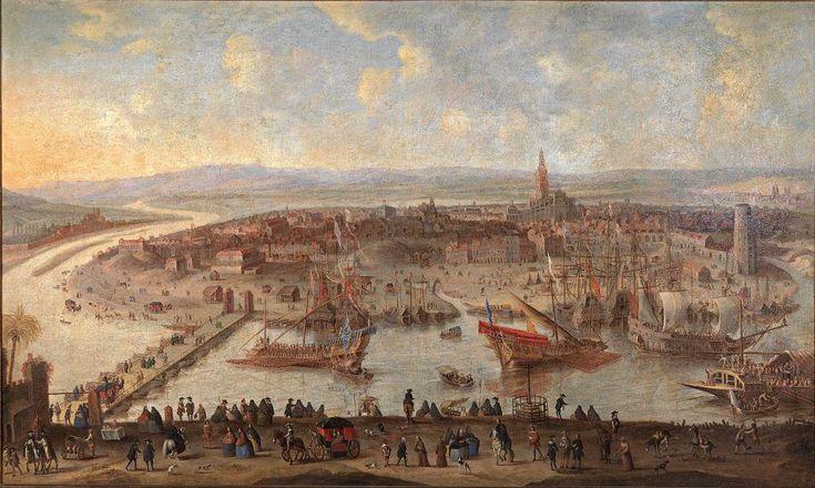 nació en Sevilla en 1628, aprendiendo el oficio de la pintura con su padre