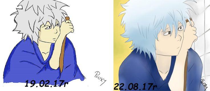 #gintama #gintoki#kid #redraw #progress #anime