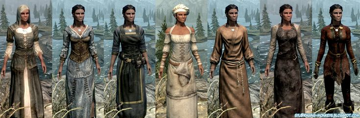 Skyrim cloth and cosmetic armor | MMO Gypsy – Wandering online Worlds