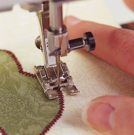 Tips for Machine Appliqué Regardless of how you prepare your pieces for machine appliqué, learning how to stabilize and stitch your pieces is key. Follow these tips for great appliqué and check out troubleshooting tips at the end of this slide show.