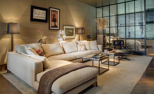 Luxe interieur ontwerp in herenhuis
