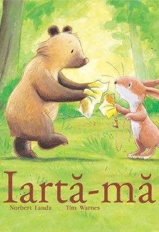 Iarta-ma!    Iepurele si Ursul sunt cei mai buni prieteni din lume. Cei doi locuiesc in casa lor IepUrseasca, unde gatesc mancare IepUrseasca, in bucataria lor IepUrseasca. Dar intr-o zi, cei doi gasesc un obiect minunat, stralucitor si nu se pot hotari caruia dintre ei ii apartine. Poate fi acesta finalul unei prietenii deosebite? O poveste antrenanta, induiosatoare, plina de umor si distractie. Iarta-ma!
