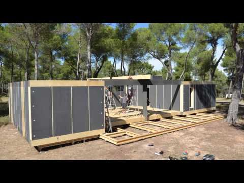 Näin rakentuu puutalo neljässä päivässä – katso video! - Maaseudun Tulevaisuus