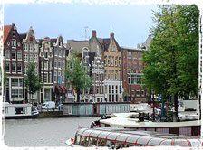 Mit dem City Night Line.  Amsterdam - Blumen, Kunst & Geschichte