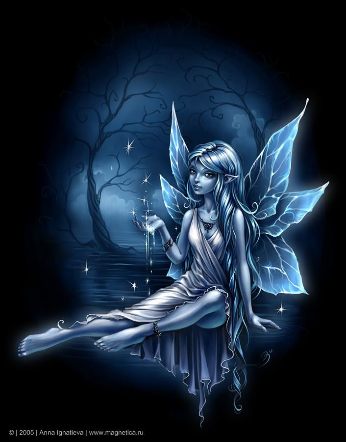 Water fairy ~ Anna Ignatieva much better than amy brown!!!