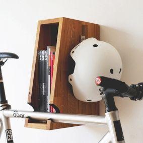Dekorative Fahrradhalterung: Urban Zweirad